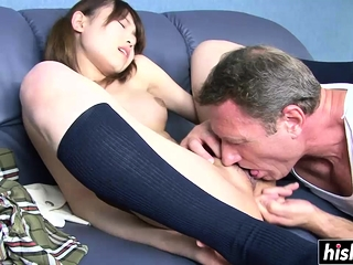 Cute Asian fucked involving..