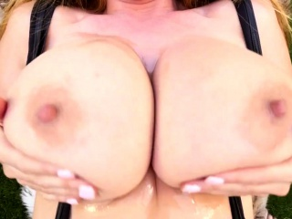 Milf pov deepthroats load of..