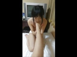 chinese girl friend gets..