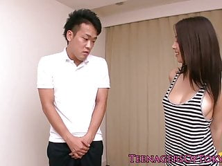 Japanese teen fucked in..