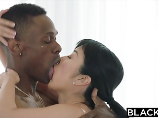BLACKED Japanese Stringer vs..