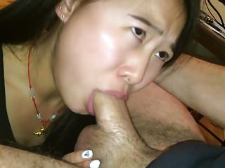 Cute Asian Tricked with..