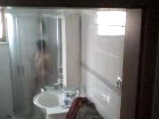Chinese Mature Wife in Shower