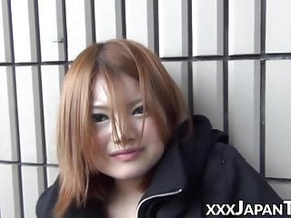 Babe from Japan plays with..