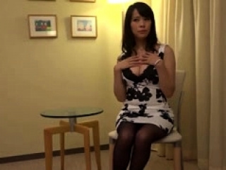 Asian girl in sexy stockings..