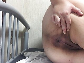 Japanese bbw showing off her..