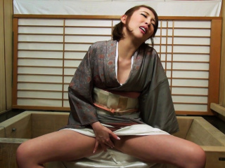 Japanese housewife Aya..