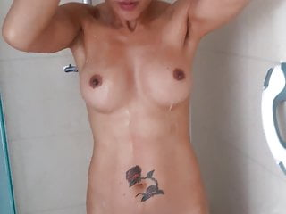 I adore hither take a shower..