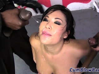 Asians interracial bang