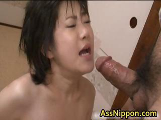 Cute Asian Cosset Sucking..